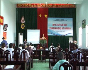 XET DUYET CAC DU AN, Y TUONG KHOI NGHIEP DOT I NAM 2018