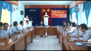 LE CONG BO, TRAO QUYET DINH VE CONG TAC CAN BO
